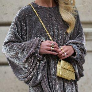 ASOS designer sequin dress